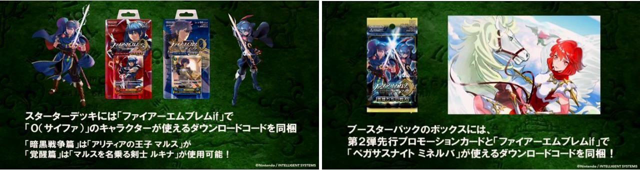 The three Special Characters unlocked by the TCG download codes - Marth, Lucina and Minerva.