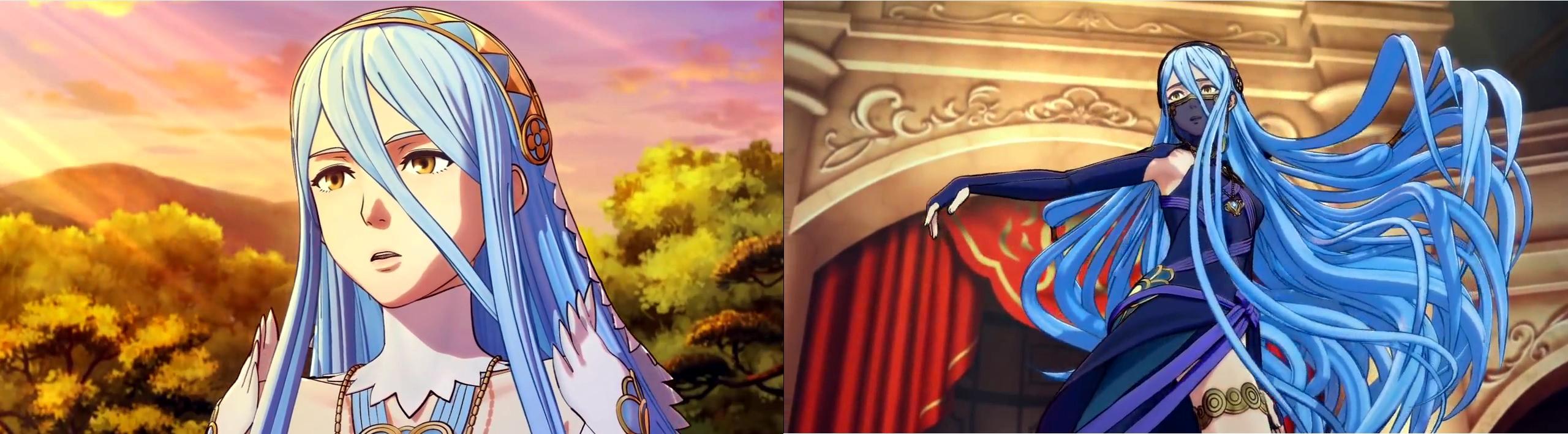 Aqua, the mysterious main heroine.