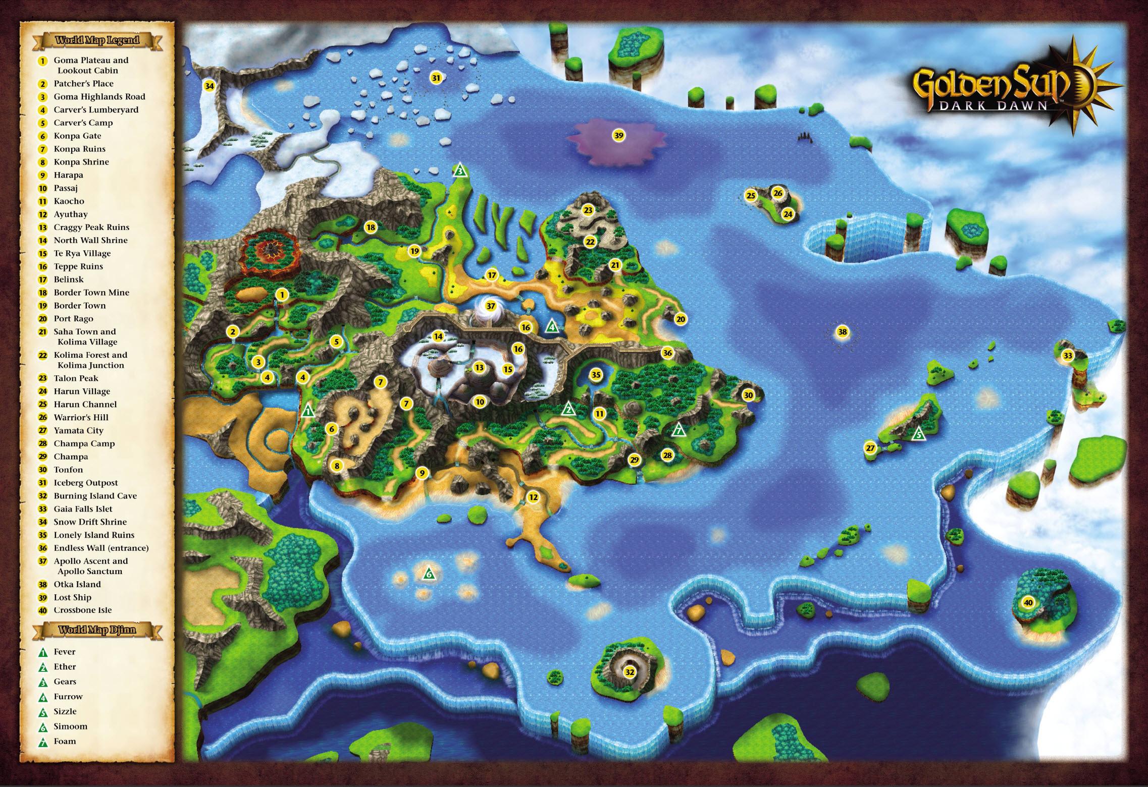 Map of Weyard.