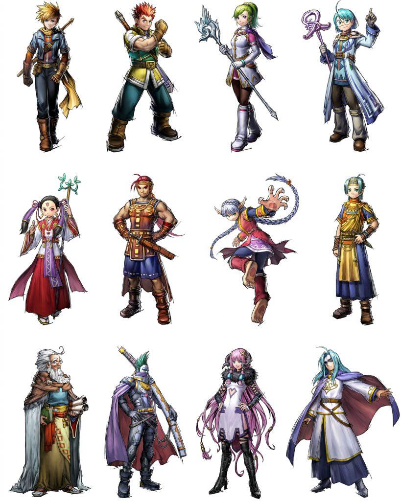 Golden Sun Dark Dawn Main Characters