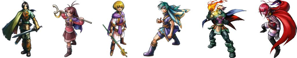 Golden Sun The Lost Age Main Characters