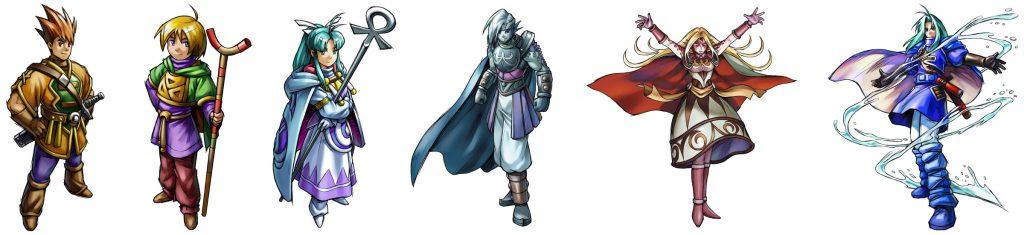 Golden Sun Main Characters