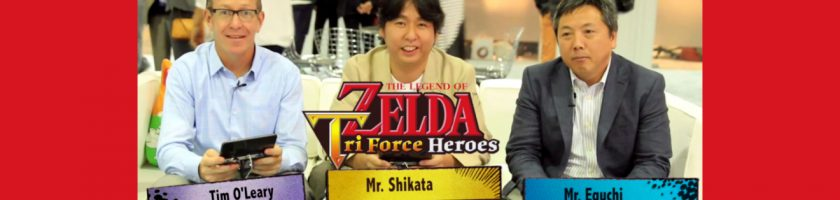 Zelda Triforce Heroes Interviews June 26
