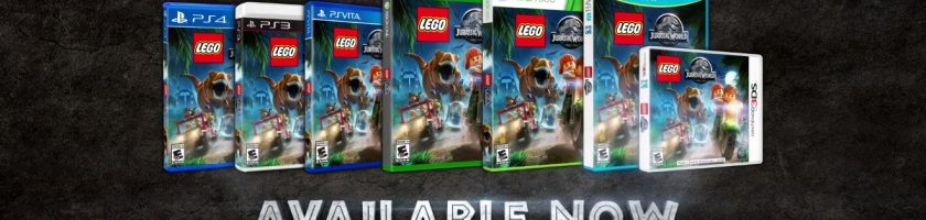 LEGO Jurassic World Launch Trailer Feature