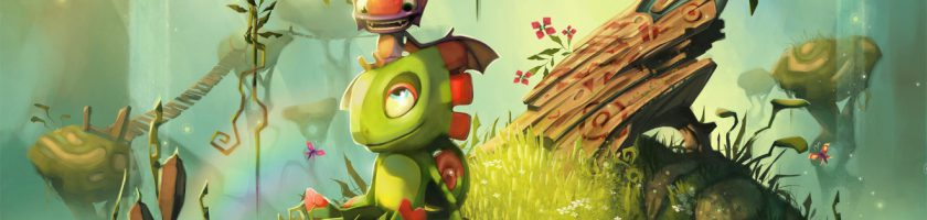 Yooka-Laylee New Artwork and Video Interview Feature