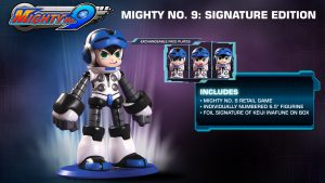 mighty number 9 signature edition