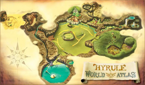 Zelda Ocarina of Time Map