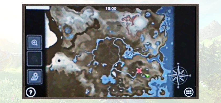 Zelda Wii U Map