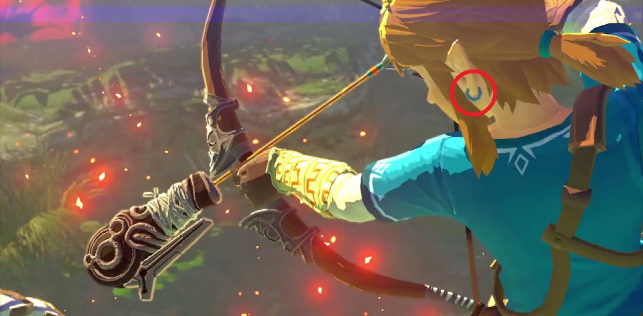 Zelda Wii U Link Earrings