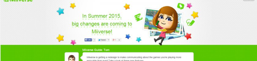 Miiverse Redesign July 2 Feature