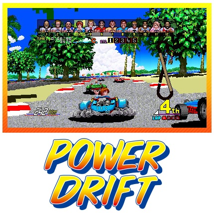 SEGA 3D Classics Power Drift