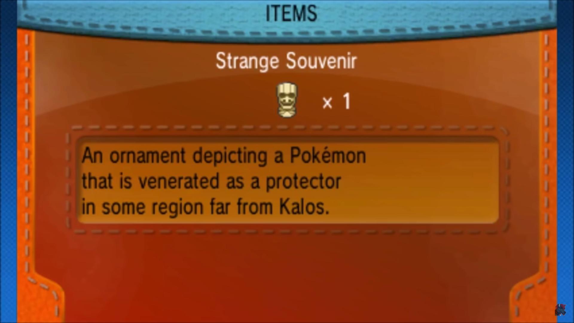 Strange Souvenir