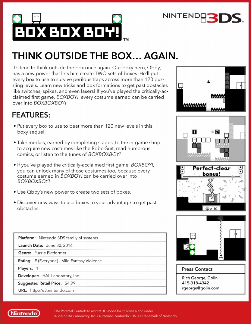 BOXBOXBOY Facts Sheet